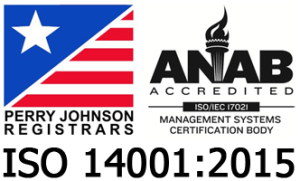 ISO 14001:2015 Certified